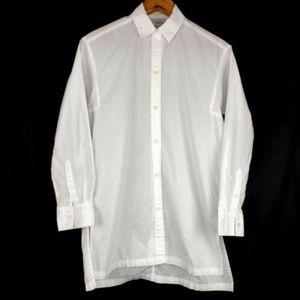 Madewell Women's Sz XXS Shirt Tunic White